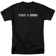 Snl/Like A Boss S/S Adult 18/1   Black     Snl123