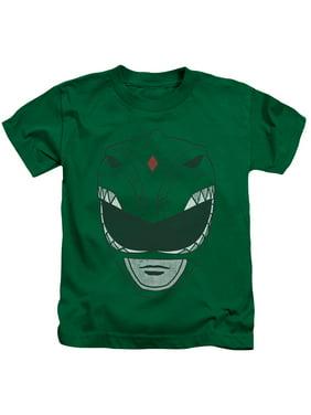 Power Rangers - Green Ranger - Juvenile Short Sleeve Shirt - 4