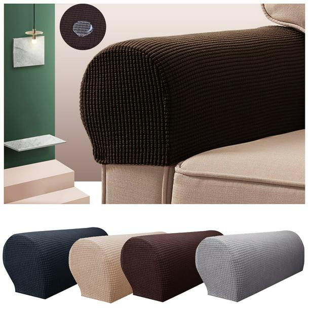 2pcs Waterproof Stretch Furniture, Furniture Arm Covers