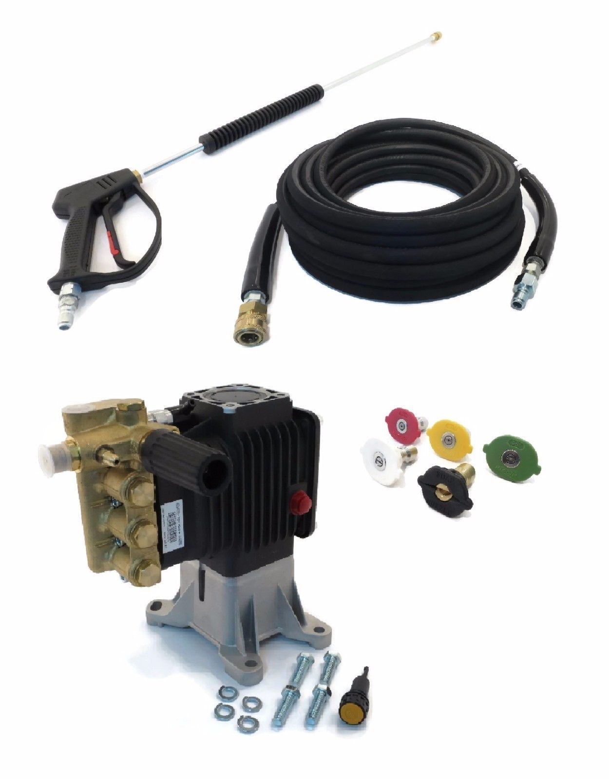 4000 psi AR PRESSURE WASHER PUMP & SPRAY KIT for Karcher HD3500 G, HD3600 DH by The ROP Shop by Annovi Reverberi