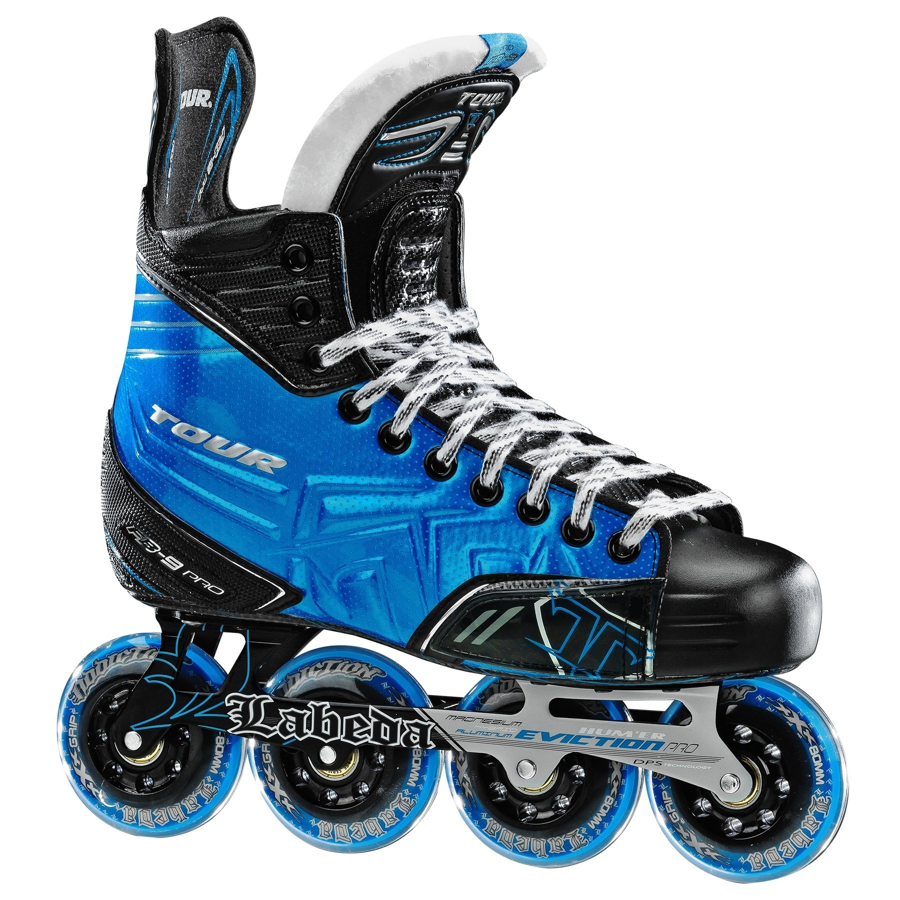 Click here to buy Tour Hockey Adult FB 9 PRO Inline Hockey Skates 105.