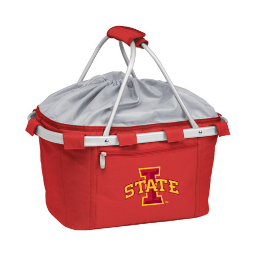 Picnic Time Metro Basket Iowa State Cyclones Print