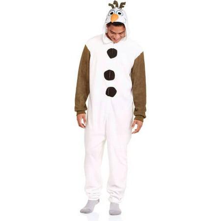Disney Frozen's Olaf The Snowman Onesie Pajama