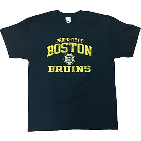 Boston Bruins Property Of Mens T Shirt Black Large