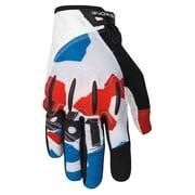 "SixSixOne, Evo II Glove RWB M with D30 Impact Protection (M = 9"")"