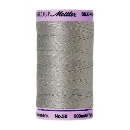 Long Arm Quilting Thread (Silk-Finish Solid Cotton Thread, 547 yd/500m, Titan Gray, Both solids and multi's are perfect for all your quilting, sewing and long arm cotton needs By)