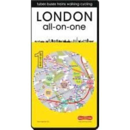 London All-on-One: Tubes, Buses, Trains, Walking and Cycling 2015 (All-on-one City Quickmaps)