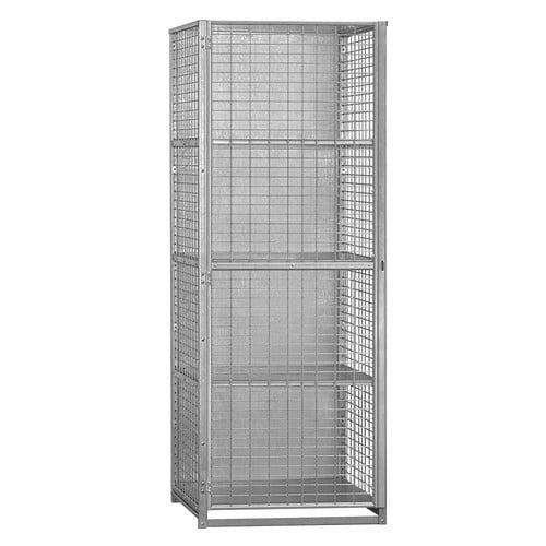 Security Cage Storage Locker - Large - Assembled