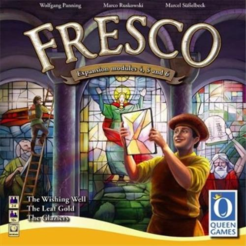 Queen Games 60811 Fresco The Glaziers Expansion International Board Game