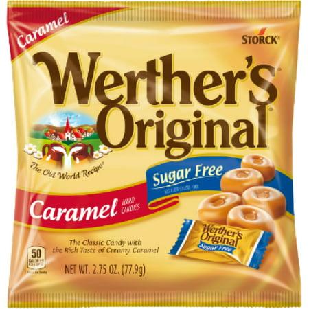 3 Pack - Werther's Original Sugar Free Caramel Hard Candies 12 (Werther's Hard Candy)