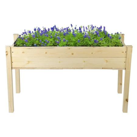 Raised Vegetable Garden Bed Elevated Planter Kit Grow Gardening Vegetables