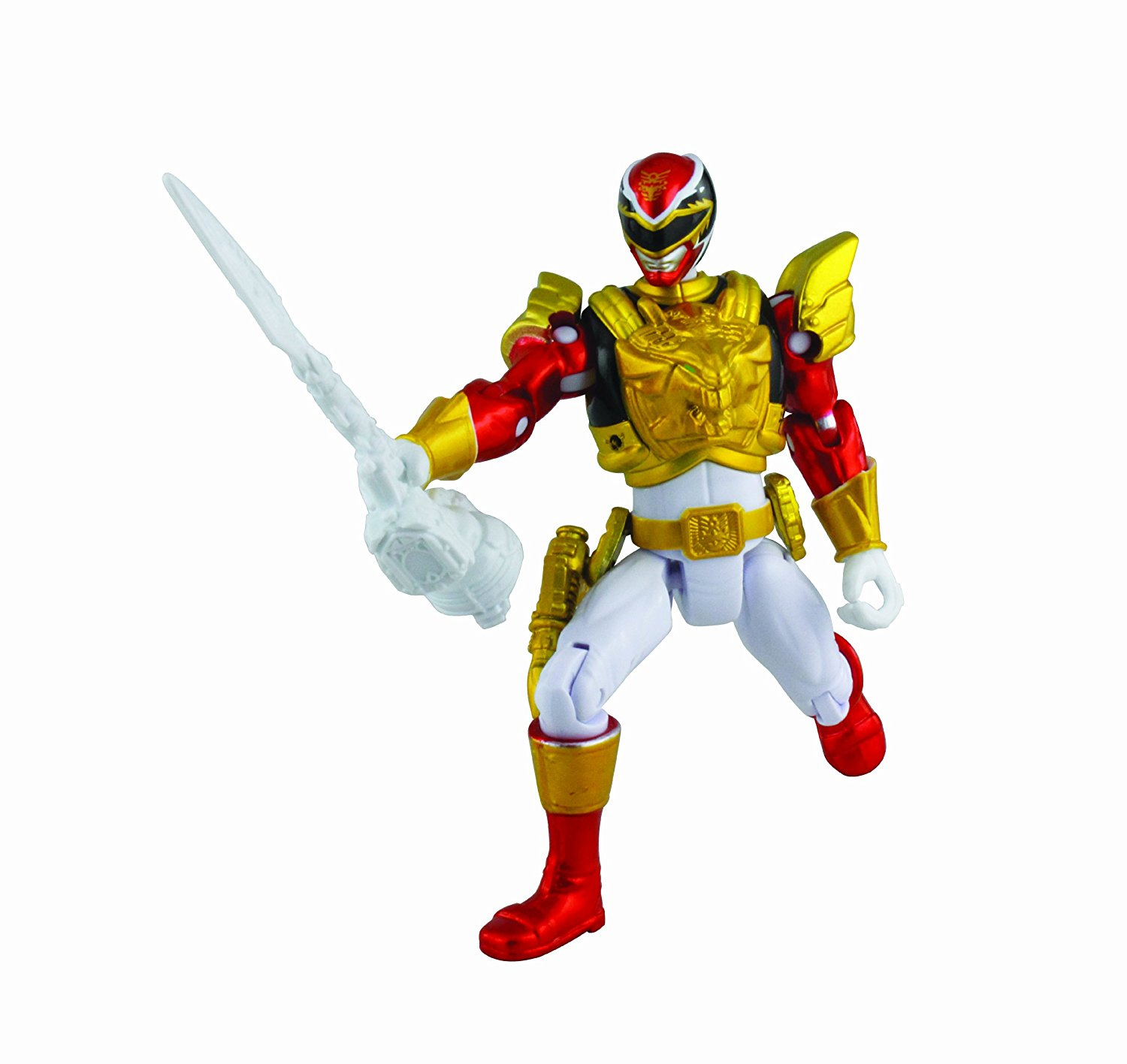 Metallic Force Ultra Action Figure, Red By Power Rangers by