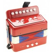 Childrens Musical Instrument Accordion, Red