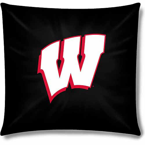 "Wisconsin Official 15"" Toss Pillow"
