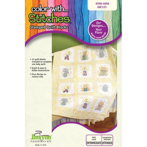 Janlynn ABC Quilt Blocks