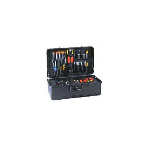 Chicago Case Company Stream-lined Tool Case with Built-in Cart