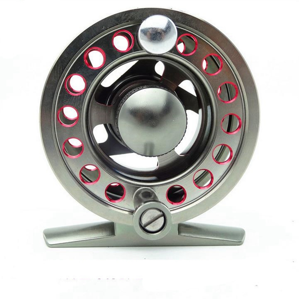 Fly Fishing Reel CNC-machined Aluminum Alloy Anti-Oxidation Disc Drag System