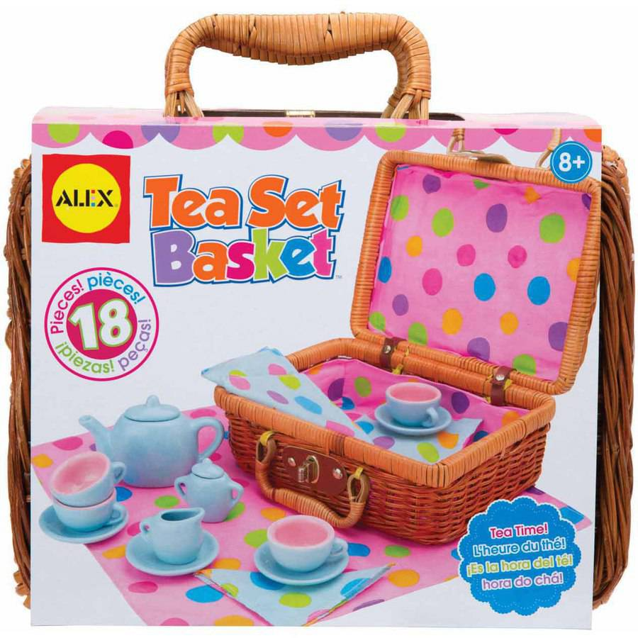 ALEX Toys Tea Set Basket 0A709W