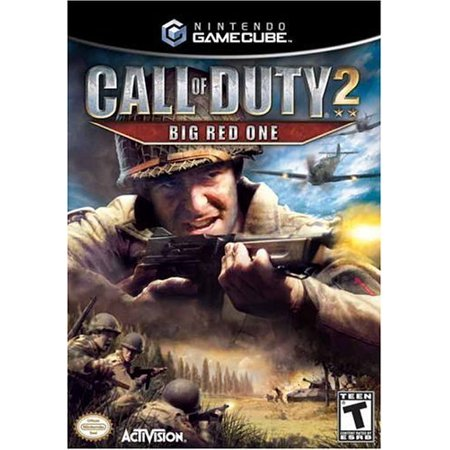 Call of Duty 2: Big Red One - Gamecube (Atv 2 Gamecube)