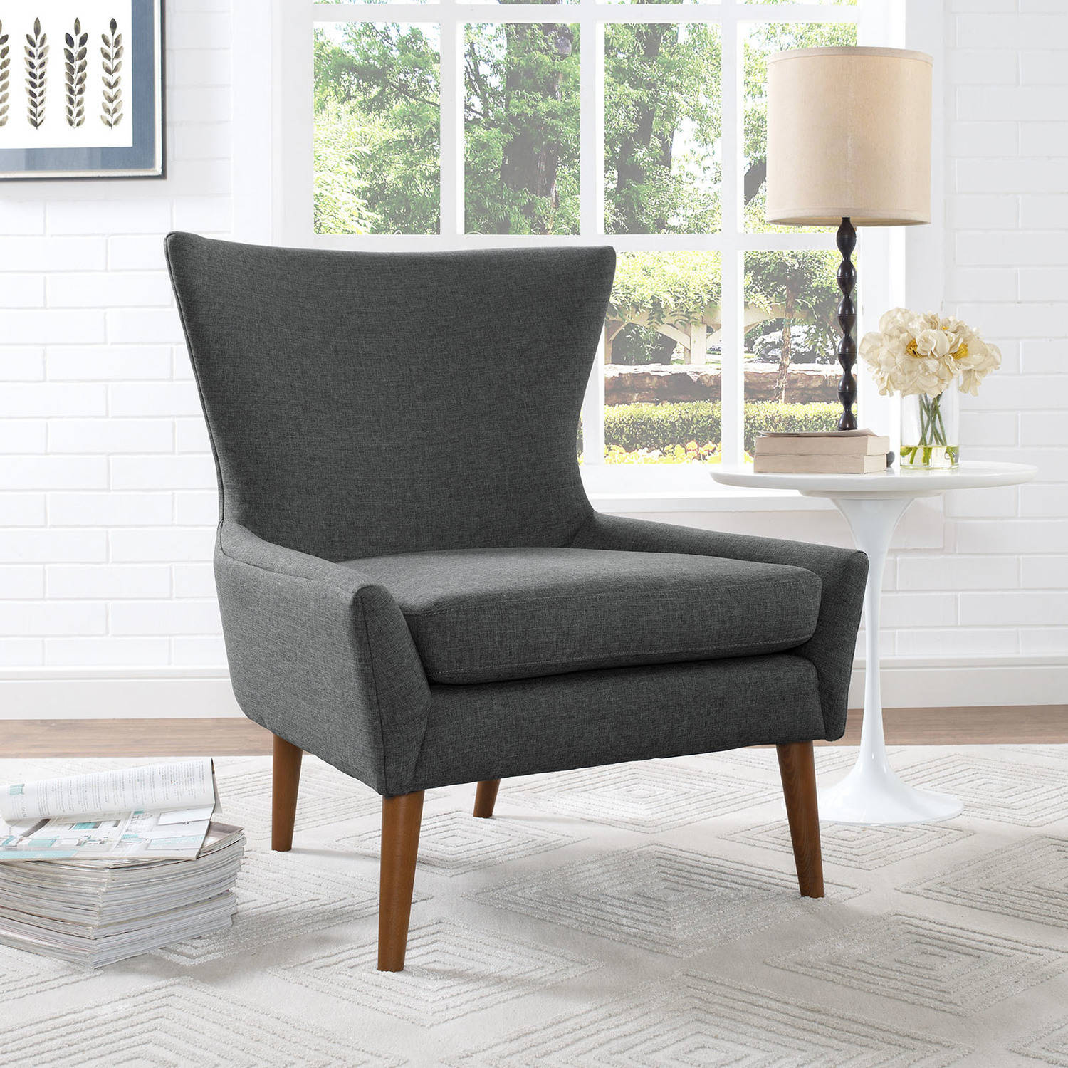 Modway Keen Modern Upholstered Armchair, Multiple Colors by Modway