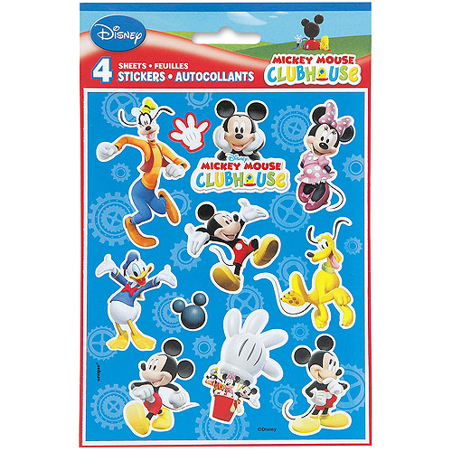 Mickey Mouse Sticker Sheets, 4ct