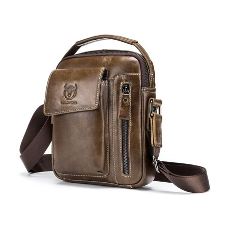 Business Style Cow Leather Men Bag Casual Design Men Messenger Bag Best Gift - image 3 of 8