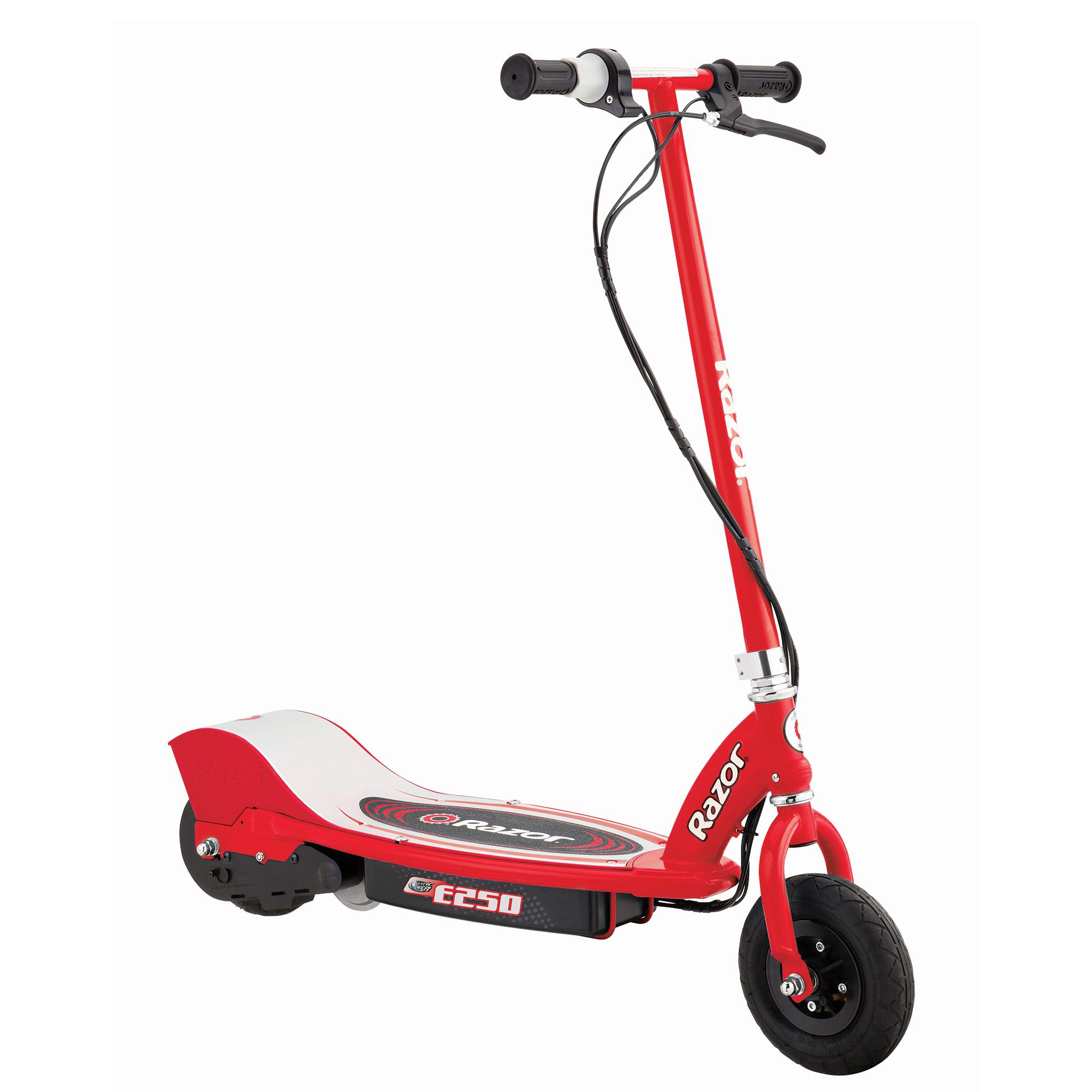 Razor E250 Electric Scooter, Red
