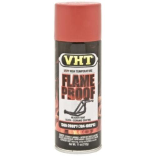 Krylon SP109 Vht Flameproof Coating Paint, Flat Red, 11 Oz Can, Withstands Temperatures Up To 2000 F