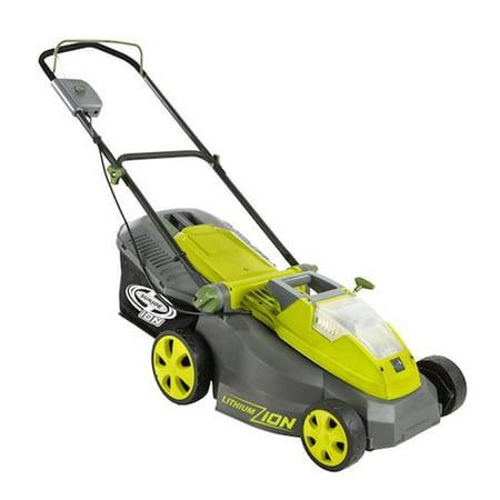 Image of Snow Joe, LLC Sun Joe iON 40-Volt Cordless 16-Inch Lawn Mower with Brushless Motor