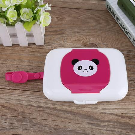 Travel Stroller Wet Wipes Box,Fosa Baby Infant Outdoor Travel Stroller Wet Wipes Box Tissue Case Dispenser,Baby wet tissue box (Nursery Baby Wipe Case)