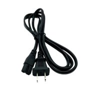 Kentek 6 Feet FT 2 Prongs AC Power Cable Cord for Acoustimass 3 6 9 15 16 25 Series II Home Entertainment Speaker