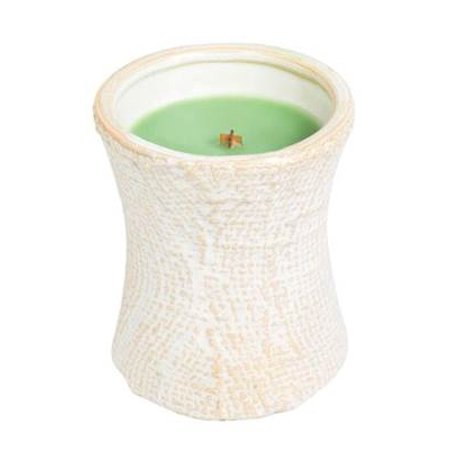 PALM LEAF - CERAMIC Hourglass Scented Candle by WoodWick