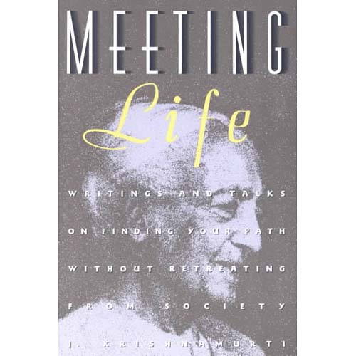 Meeting Life : Writings and Talks on Finding Your Path Without Retreating from Society
