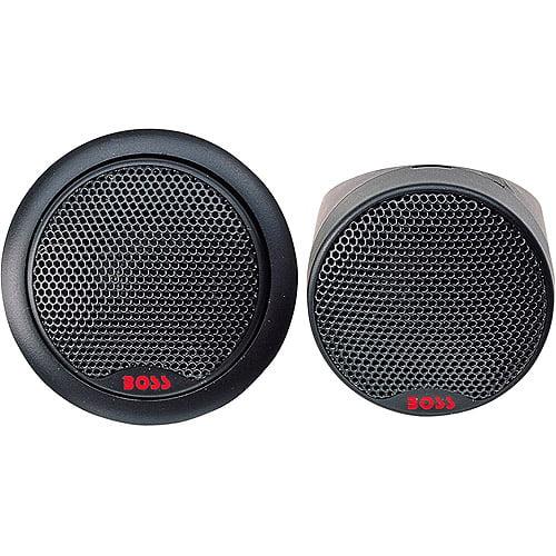 """Boss Audio 1"""" Silk Dome Tweeters, Car Speakers"""