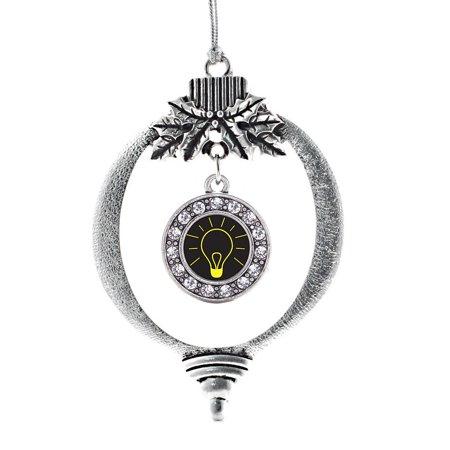 Bright Idea Circle Holiday Ornament