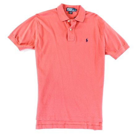 - Polo Ralph Lauren NEW Red Mens Medium M Classic Fit Polo Rugby Shirt