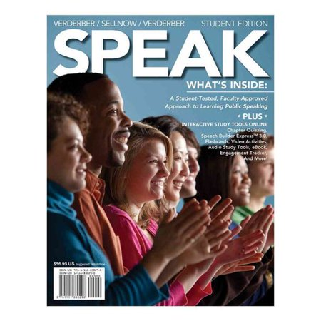 Speak (with Coursemate with Interactive Video Activities, Audio Studio  Tools, Infotrac 1-Semester, Speech Builder Express Printed Access Card)