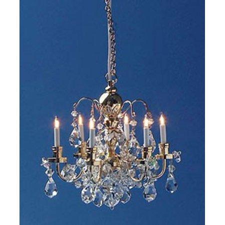Dollhouse chandelier 6 up arm chrystal walmart dollhouse chandelier 6 up arm chrystal aloadofball Choice Image