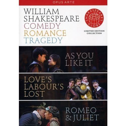 Shakespeare: Comedy Tragedy Romance   Various by BBC/Opus Arte