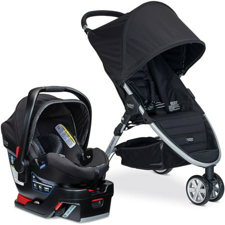 britax b agile 3 b safe 35 elite travel system domino. Black Bedroom Furniture Sets. Home Design Ideas
