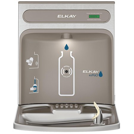 Station Retrofit (Elkay EZH2O RetroFit Bottle Filling Station Kit, Non-Filtered Non-Refrigerated Stainless Steel)