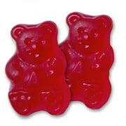 albanese gummy bears/ red raspberry 5lbs/bag #6036