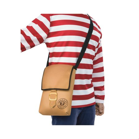 Where's Waldo Messenger Bag Halloween Costume (Where's Waldo Costumes Kit)