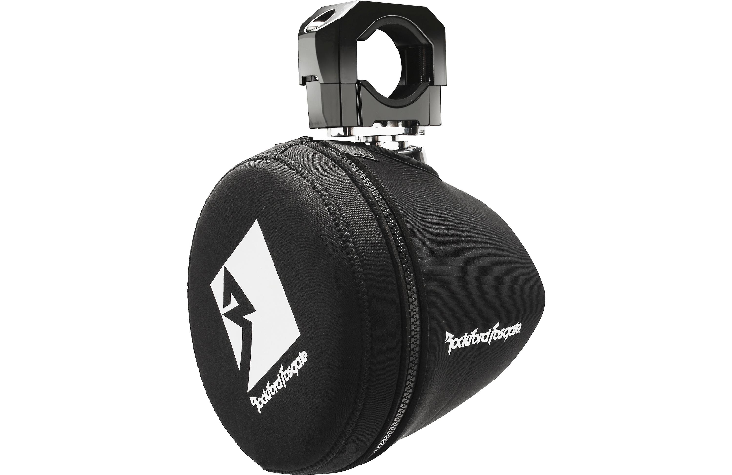 "Rockford Fosgate PM265-SPFM Punch Series Marine 6.5"" Neoprene Mini Wakeboard Tower Speaker Covers by Rockford Fosgate"