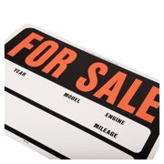 Hy Ko Auto Car For Sale Sign 15 Inch X 19 Inch Walmart Com