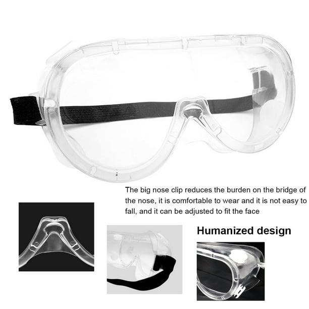 Transparent Safety Goggles Glasses  Dust-Proof Splash Eye Protective Eyewear New