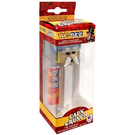 Quaker Oats Funko POP! PEZ Cap'n Crunch Candy Dispenser
