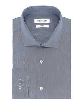 Slim-Fit Textured Dress Shirt