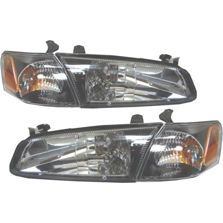 Depo 312 1117fxas2 Driver And Penger Side Headlight For 97 99 Toyota Camry