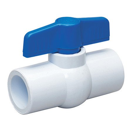 PVC Ball Valve,Inline,Socket,3/4